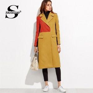 HOST Pick🎉 SHEINSIDE Double Breasted Wool Coat